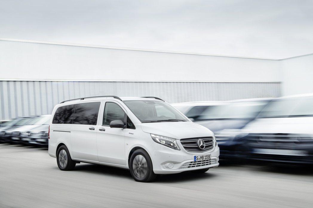 今年起首度列入德國三芒星銷量計算的Mercedes-Benz Vans商用車,上...