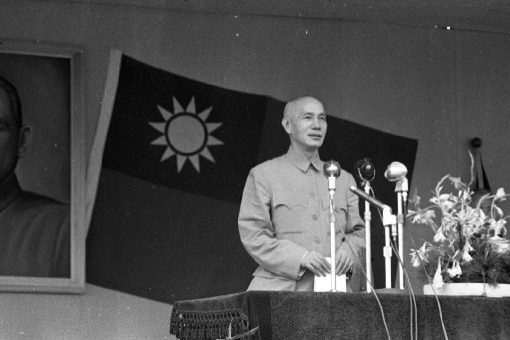「黨國體制」是戒嚴時期的巨靈,也是奠定威權統治的首要基礎。圖為蔣介石。 圖/聯合報系資料照