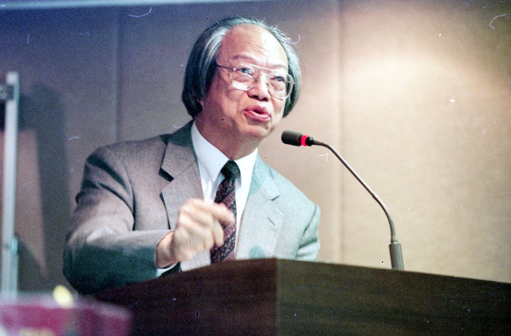 林山田教授是臺南人,畢業於中央警官學校,後辭職、出國進修,並取得德國杜賓根大學法學博士學位。 圖/聯合報系資料照
