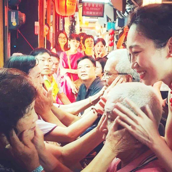 崔綵珊的作品《觸摸對話》。 圖/臺南市政府文化局提供
