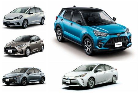 Toyota汽車持續稱霸!都會跨界更成2020上半年日本乘用車銷售冠軍