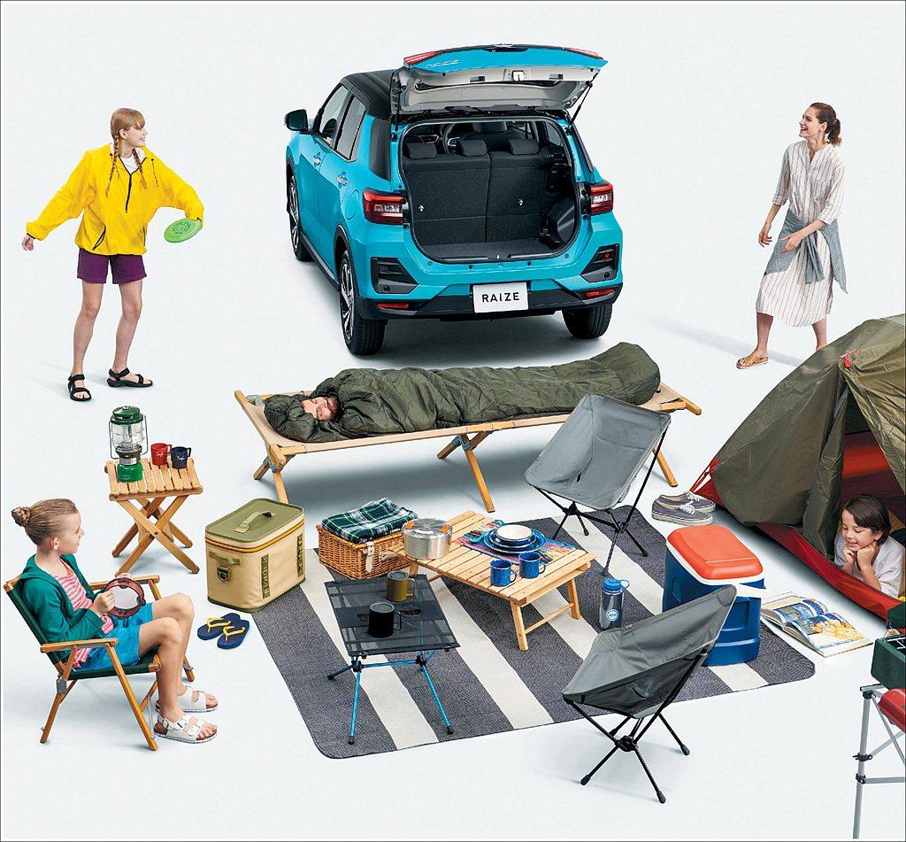 去年11月日本Toyota汽車無預警推出Raize都會跨界休旅,並於今年初開始交...
