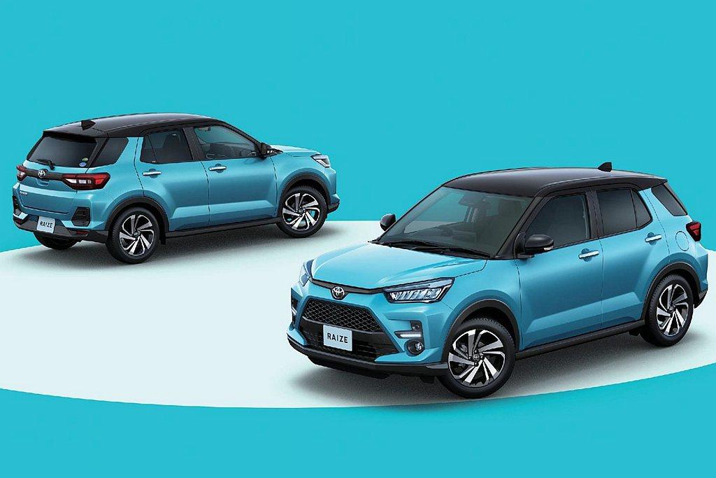 Toyota Raize問世後有三次奪下單月銷售冠軍紀錄,當然就毫無懸念成為20...