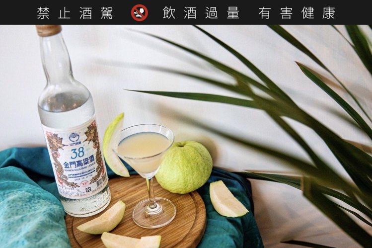 金酒野FUN38特調─綠動醇享樂。圖/金酒公司提供