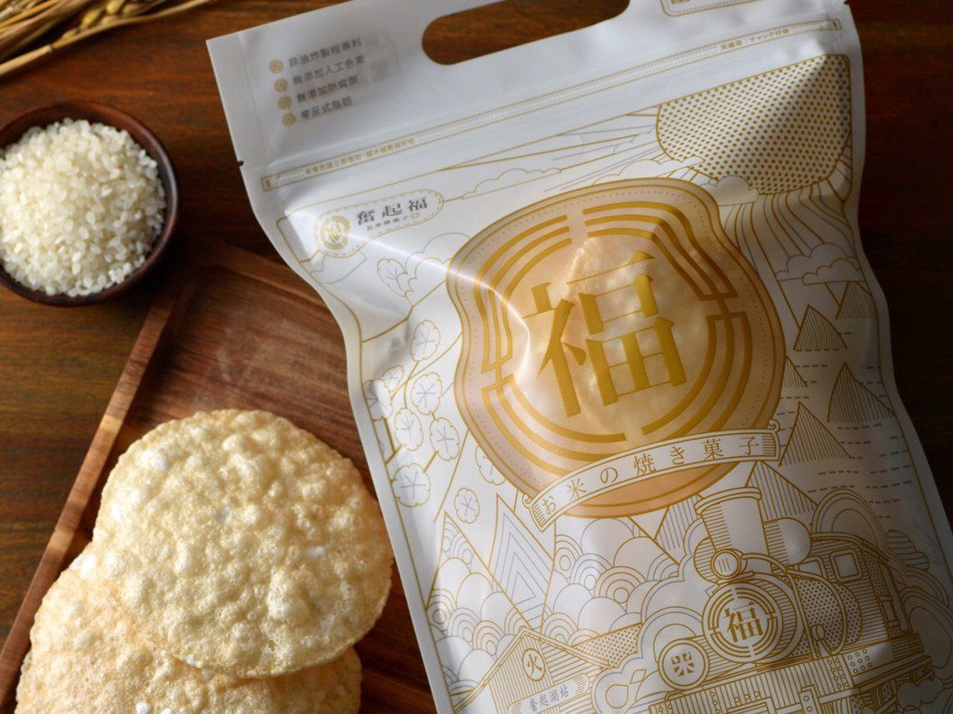 「寶寶米餅」是將米用高溫澎化技術製作而成,除了無化學添加物,更不加一滴油,保留米...