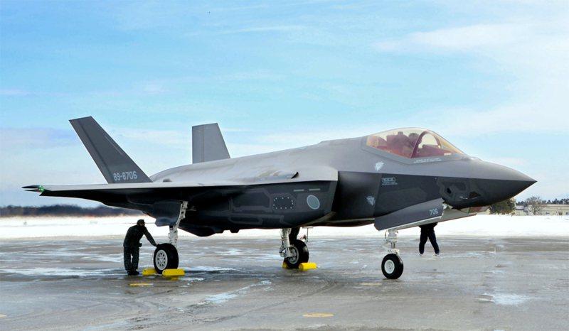F-35A匿蹤戰機。美聯社