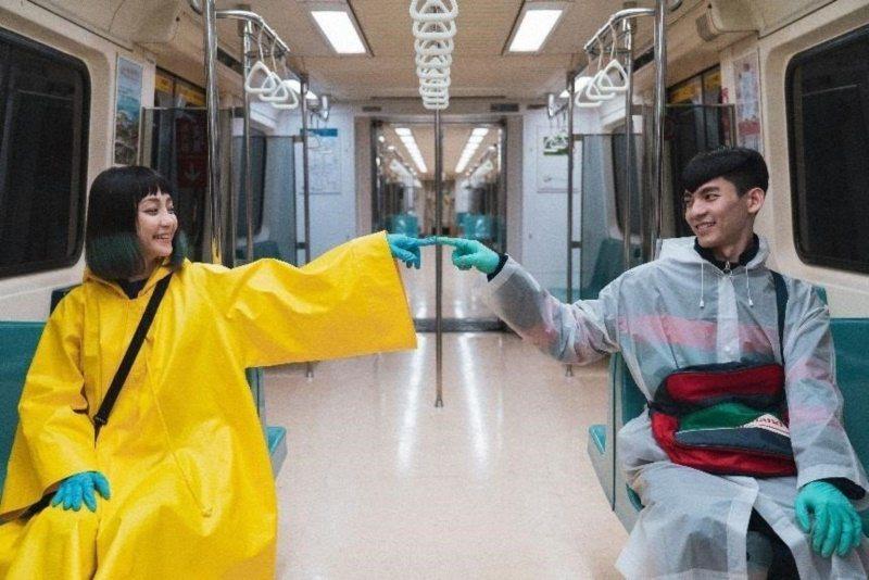 謝欣穎(左)和林柏宏(右)主演「怪胎」將上映。 圖/牽猴子提供