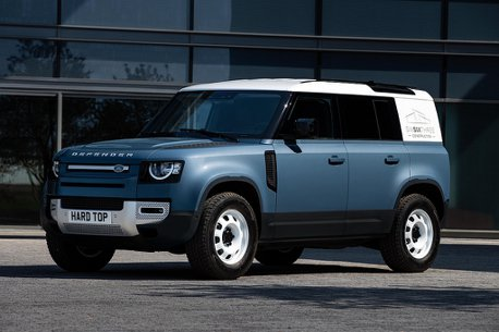130萬就能買新Land Rover Defender?不過卻是載貨的Hard Top商用車型