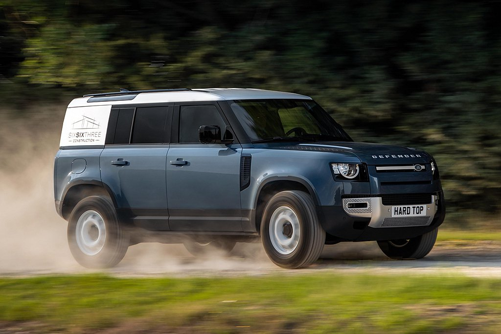Land Rover Defender Hard Top預計在今年稍晚於英國市場...