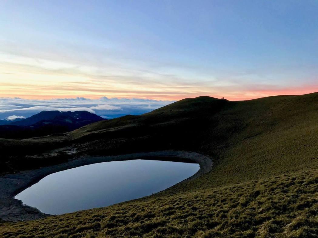 位於台東的嘉明湖為熱門登山景點。 圖/作者提供
