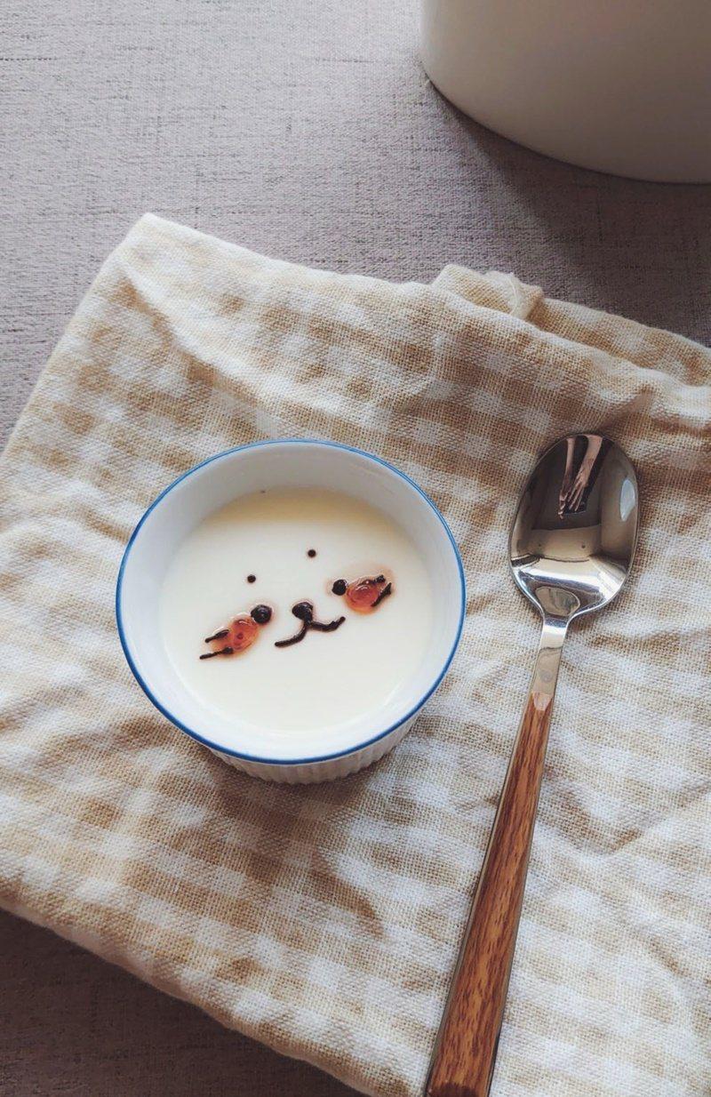 小海豹奶酪:像餐廳打卡甜點一樣超萌可愛。 圖/幸福文化提供