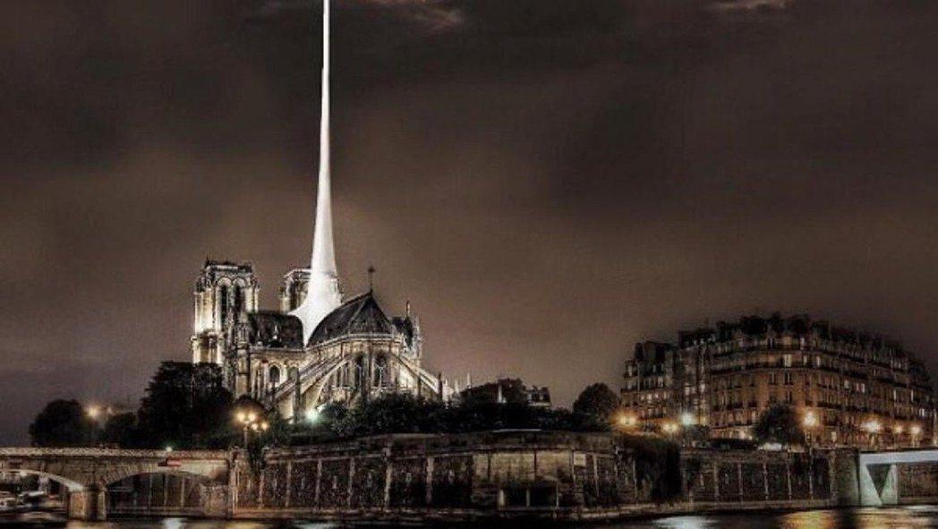 同時間,斯洛伐克的設計師Vizum Atelier的提案則是改成「雷射光束塔」。...