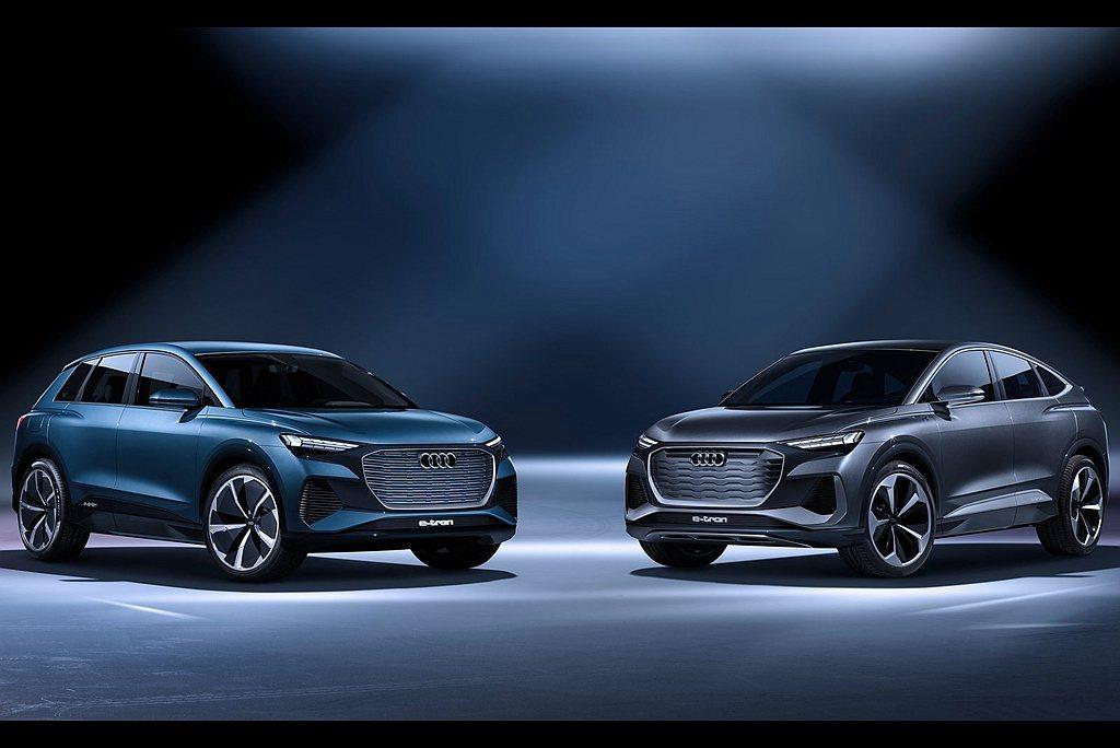 相較Audi Q4 e-tron概念車,Q4 Sportback e-tron概...