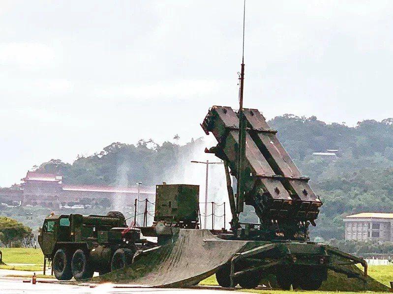 愛國者三型防空飛彈。本報資料照片