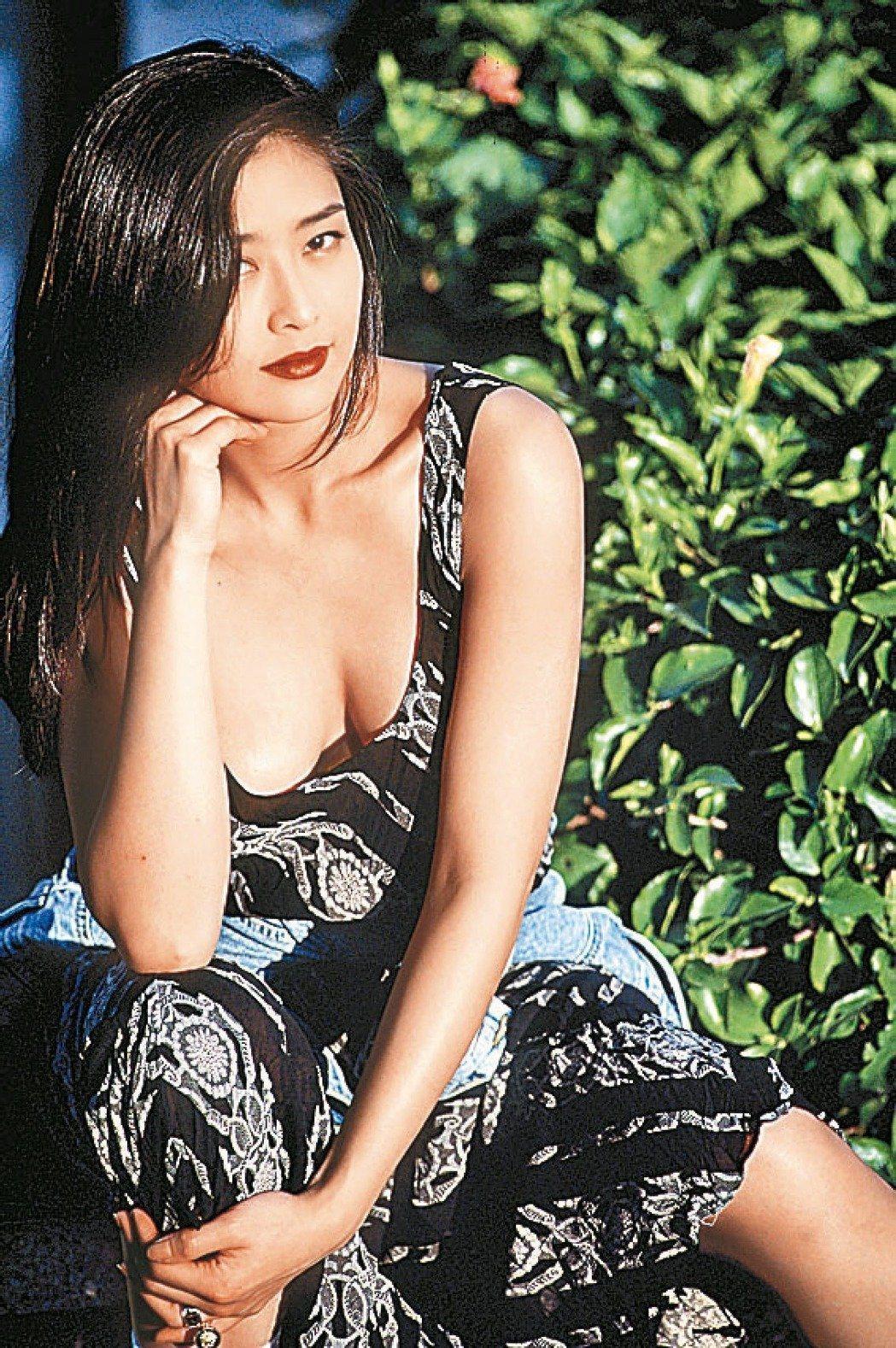 葉玉卿是華人影壇的性感女神。圖/報系資料照