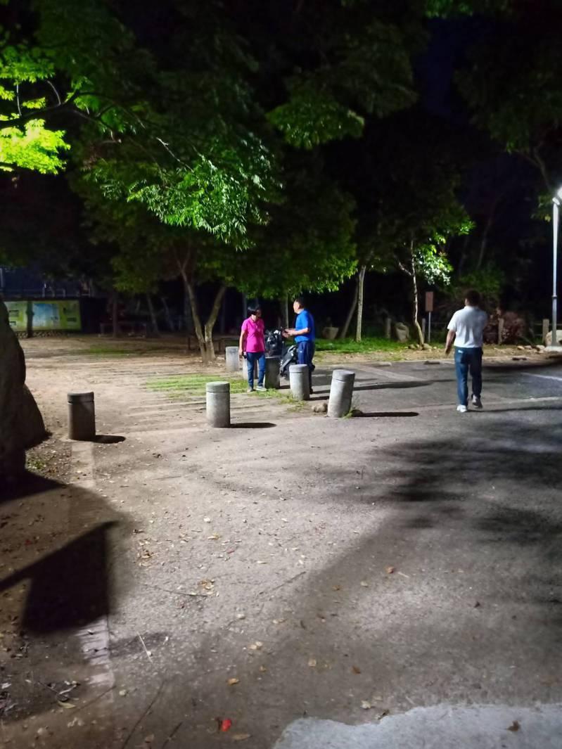員林公所爭取縣府補助從藤山步道自停車場入口向上延伸至彰投交界都已裝設LED路燈照,以提升夜間休閒安全性。圖/員林公所提供