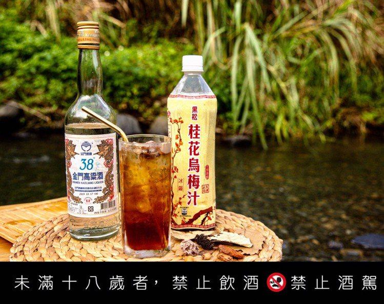 金酒野FUN38特調─乾杯梅在怕。圖/金酒公司提供