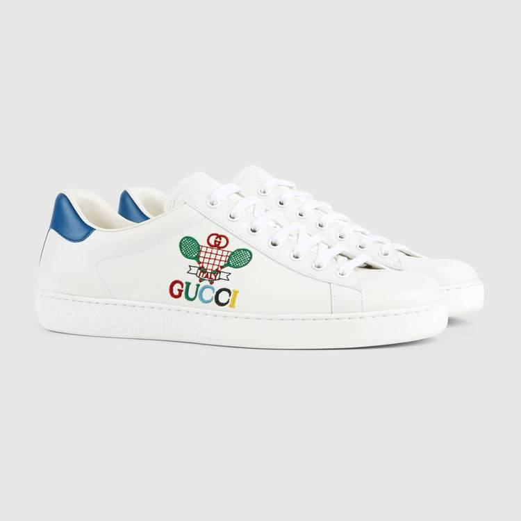 GUCCI Ace網球運動鞋,22,400元。圖/GUCCI提供