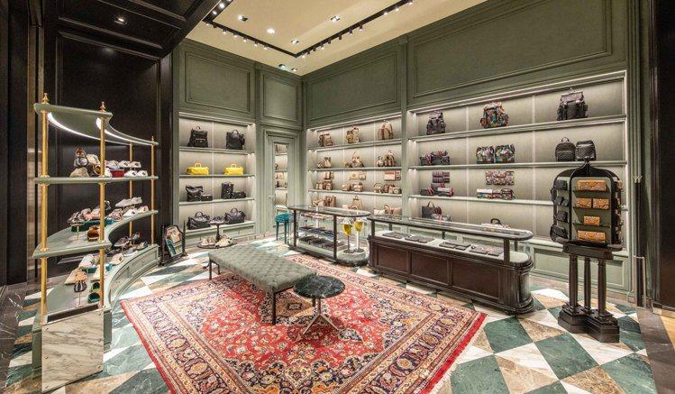 GUCCI台北SOGO百貨復興館專門店占地近103坪,已於5月上旬開幕。圖/GU...