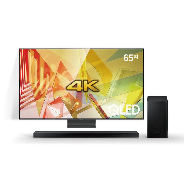 SAMSUNG 65吋4K QLED智慧連網電視,燦坤會員特典加碼送3,000振...
