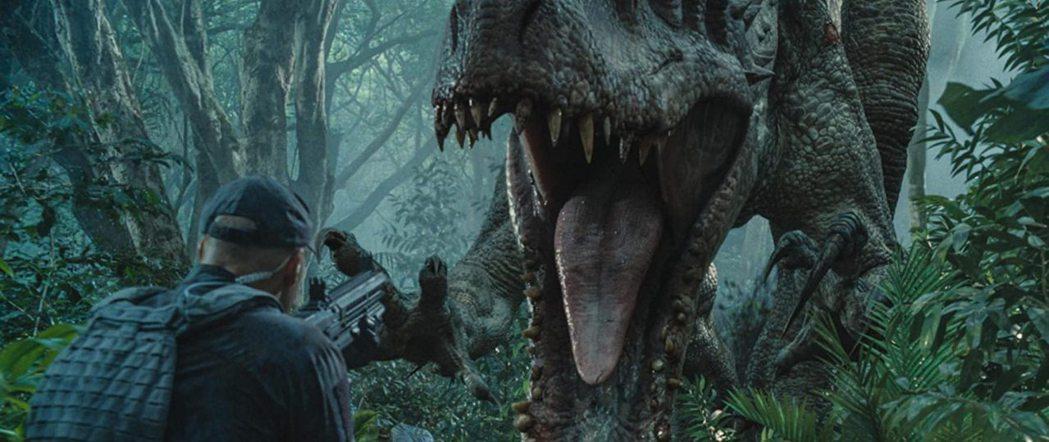 「侏羅紀世界」恐龍特效出色,最新續集受到全球觀眾期待。圖/摘自imdb