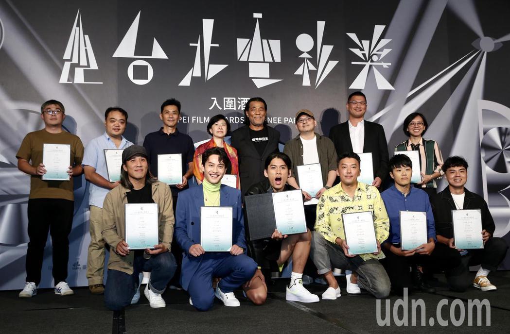 台北電影獎入圍劇組共29組,電影「下半場」入圍劇組。記者林俊良/攝影