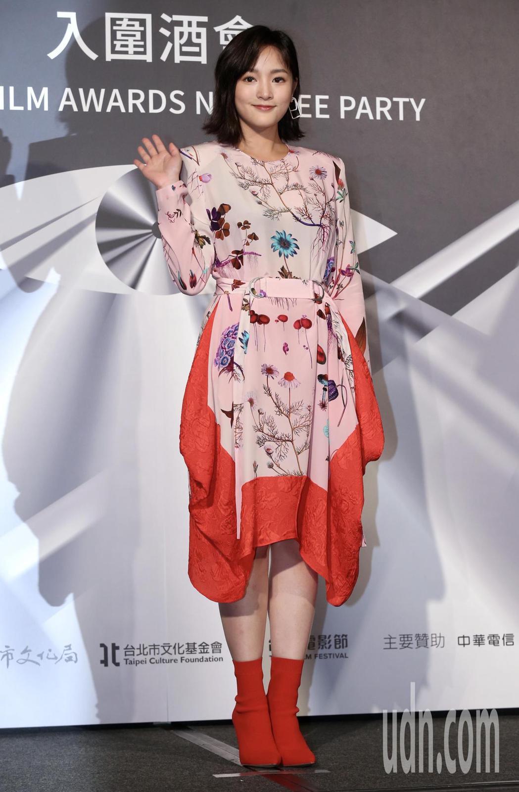 台北電影獎入圍最佳女主角:王淨。記者林俊良/攝影