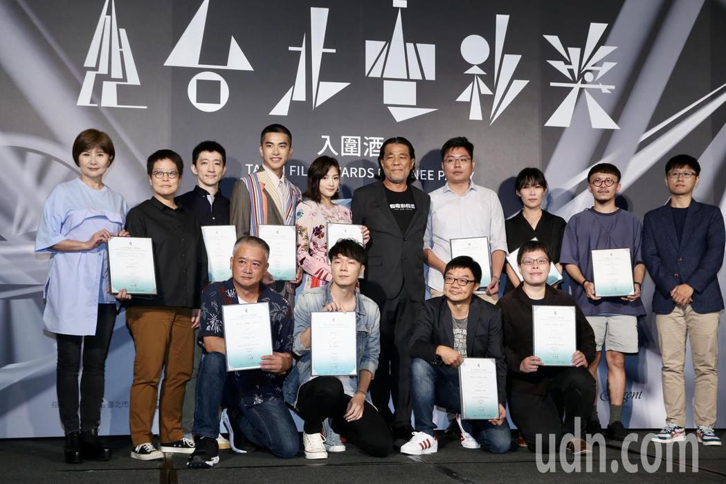 台北電影獎入圍劇組共29組,電影「返校」入圍劇組。記者林俊良/攝影