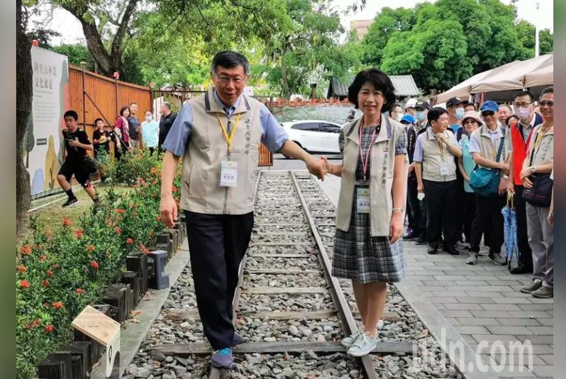台北市長柯文哲嘆2024選得贏的機會不大。柯文哲妻子陳佩琪今天在臉書貼文表示,「在台灣要選得上, 要有網軍、東廠、媒體、名嘴、側翼、網紅」。本報資料照片