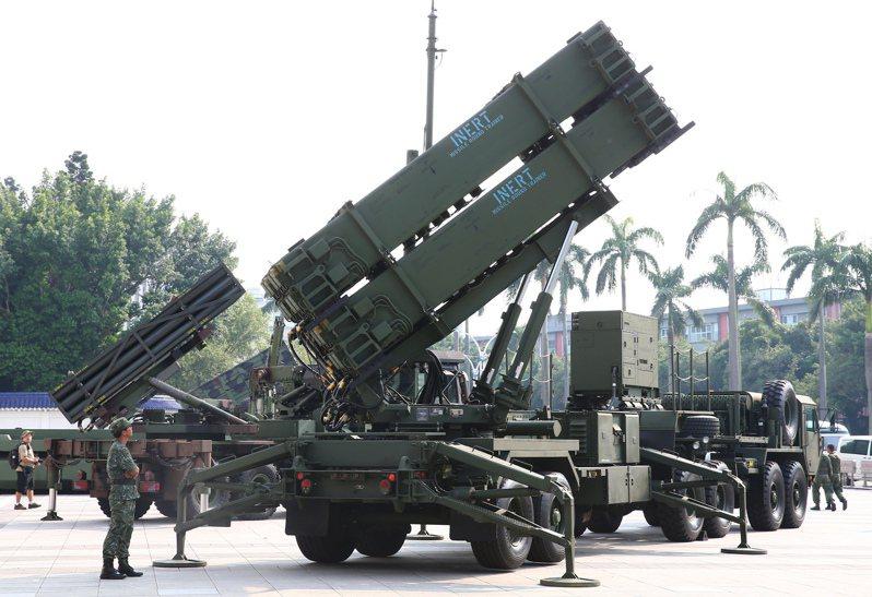 愛國者三型飛彈。圖/聯合報系資料照片