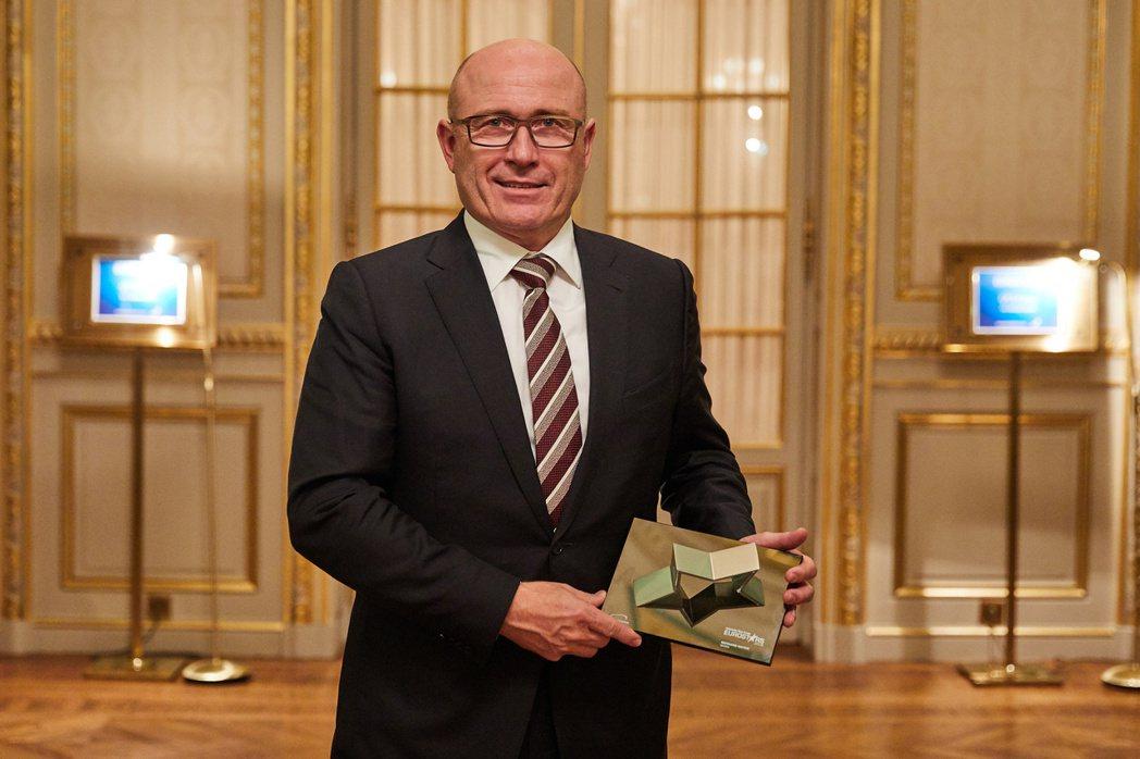 有著卓越貢獻的ŠKODA執行長Bernhard Maier,曾於2018年獲頒A...