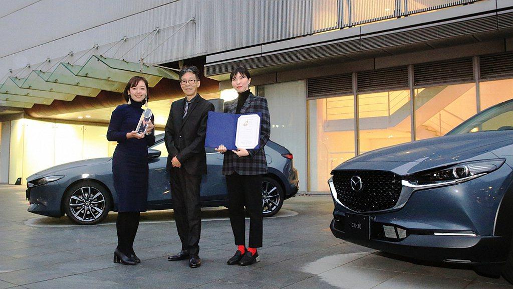 Mazda「極境灰」車色曾在2019年時獲得日本流行色協會(JAFCA)的Aut...