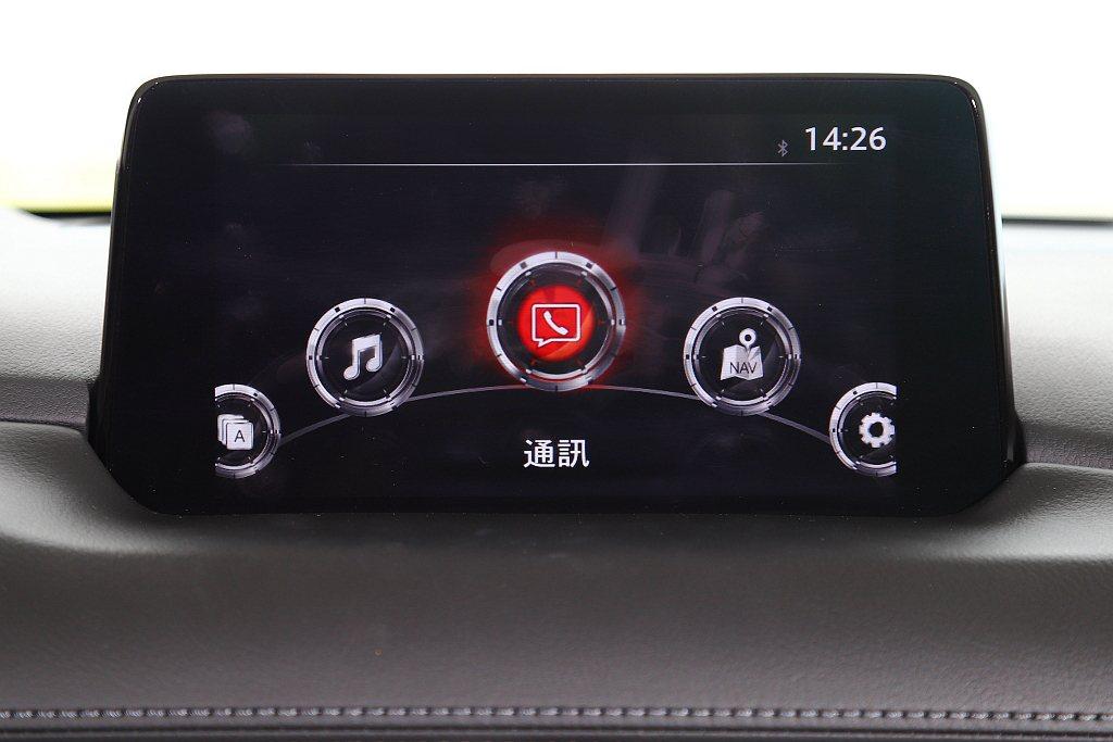 中央資訊顯示幕升級為8.0吋且標配Mazda Connect人機智慧資訊整合系統...