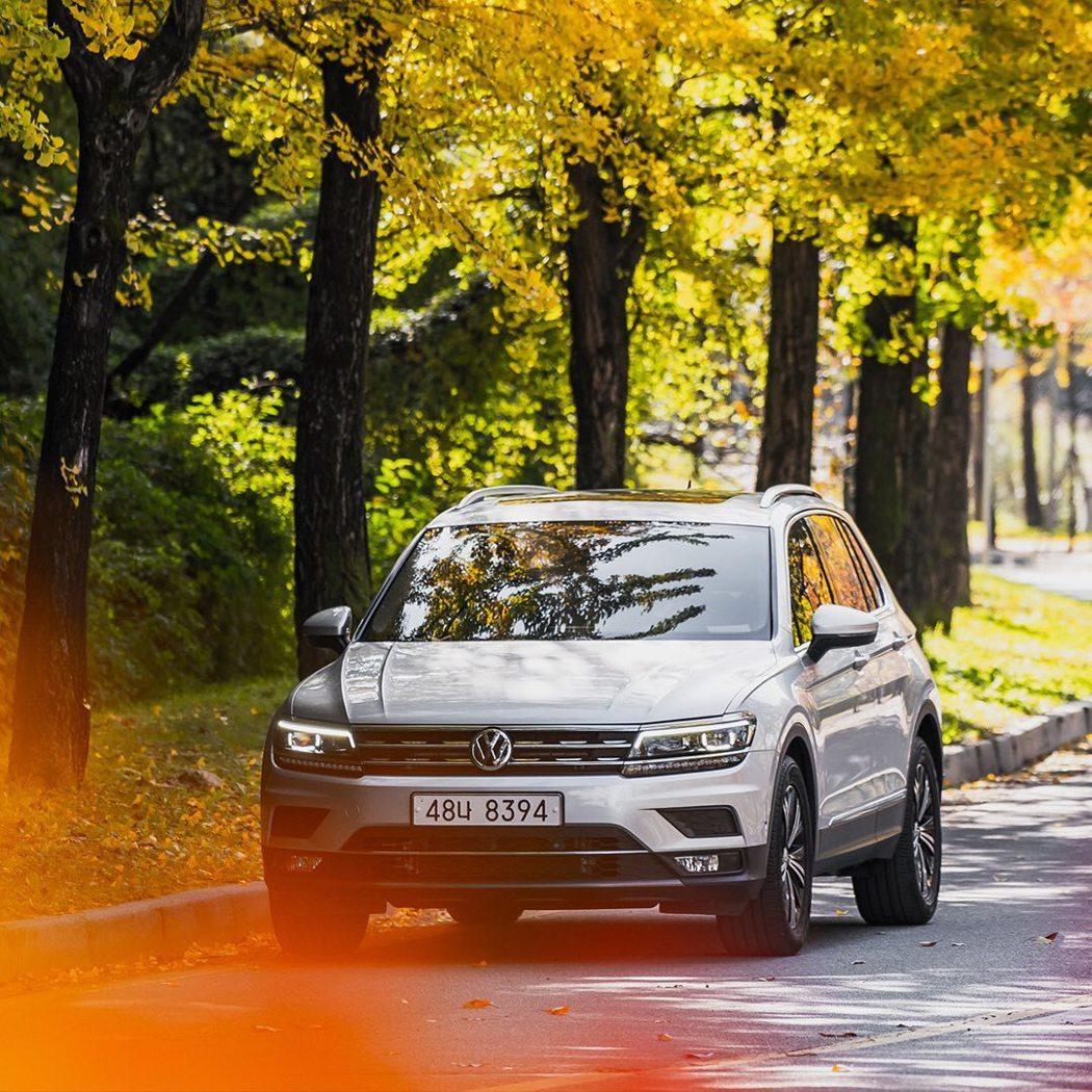 Volkswagen Tiguan成為今年上半年韓國銷售第一的進口休旅。 摘自摘...