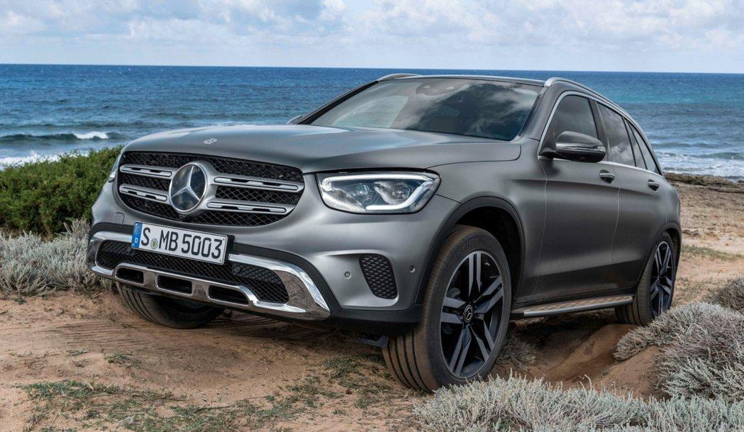 Mercedes-Benz GLC今年上半年在韓國進口車銷量排名第六。 摘自Me...