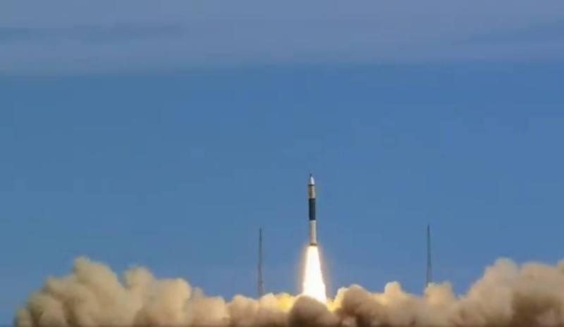 「快舟11號」運載火箭10日首飛失敗,詳細原因仍待調查。圖/影片截圖 區煦俐