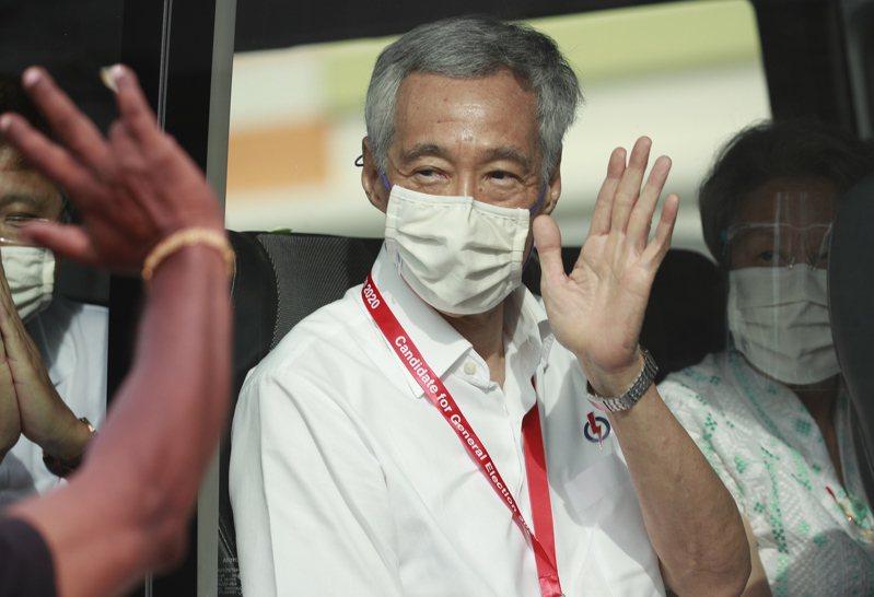 新加坡總理李顯龍。歐新社