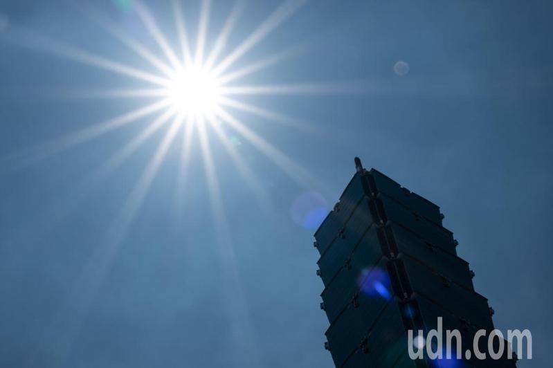 台北市盆地有連續出現36度高溫的機率。記者季相儒/攝影