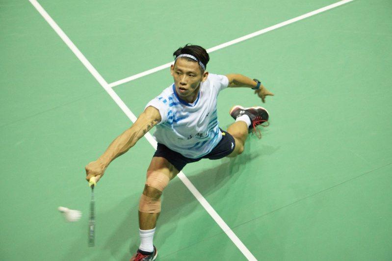 儘管整條右腳都是傷,但林祐賢仍打算拚戰到杭州亞運以後再退休。記者劉肇育/攝影