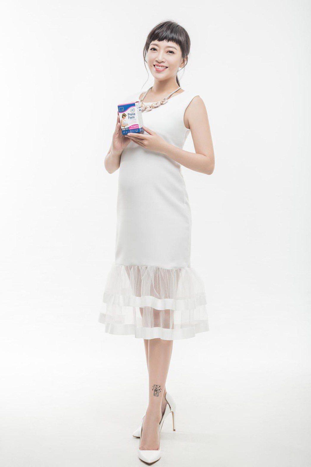 貝童彤的好身材也是吸引廠商的原因之一。圖/星恆娛樂提供