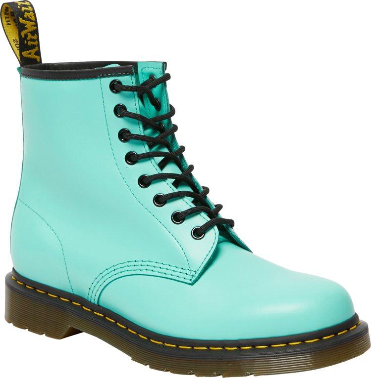 Dr. Martens Colour Pop系列薄荷綠1460 Smooth靴6...
