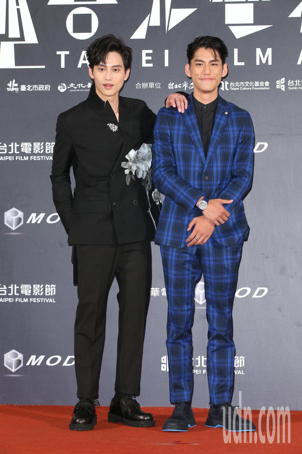 范少勳(左)、朱軒洋。記者陳立凱/攝影