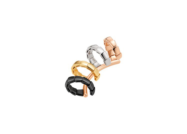 BVLGARI Serpenti系列耳扣,約50,000元。圖/寶格麗提供