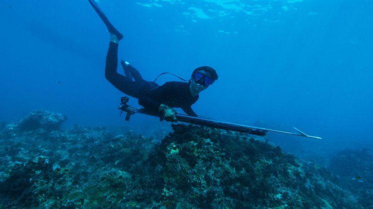 劉以豪平日喜歡潛水。圖/劉以豪經紀提供
