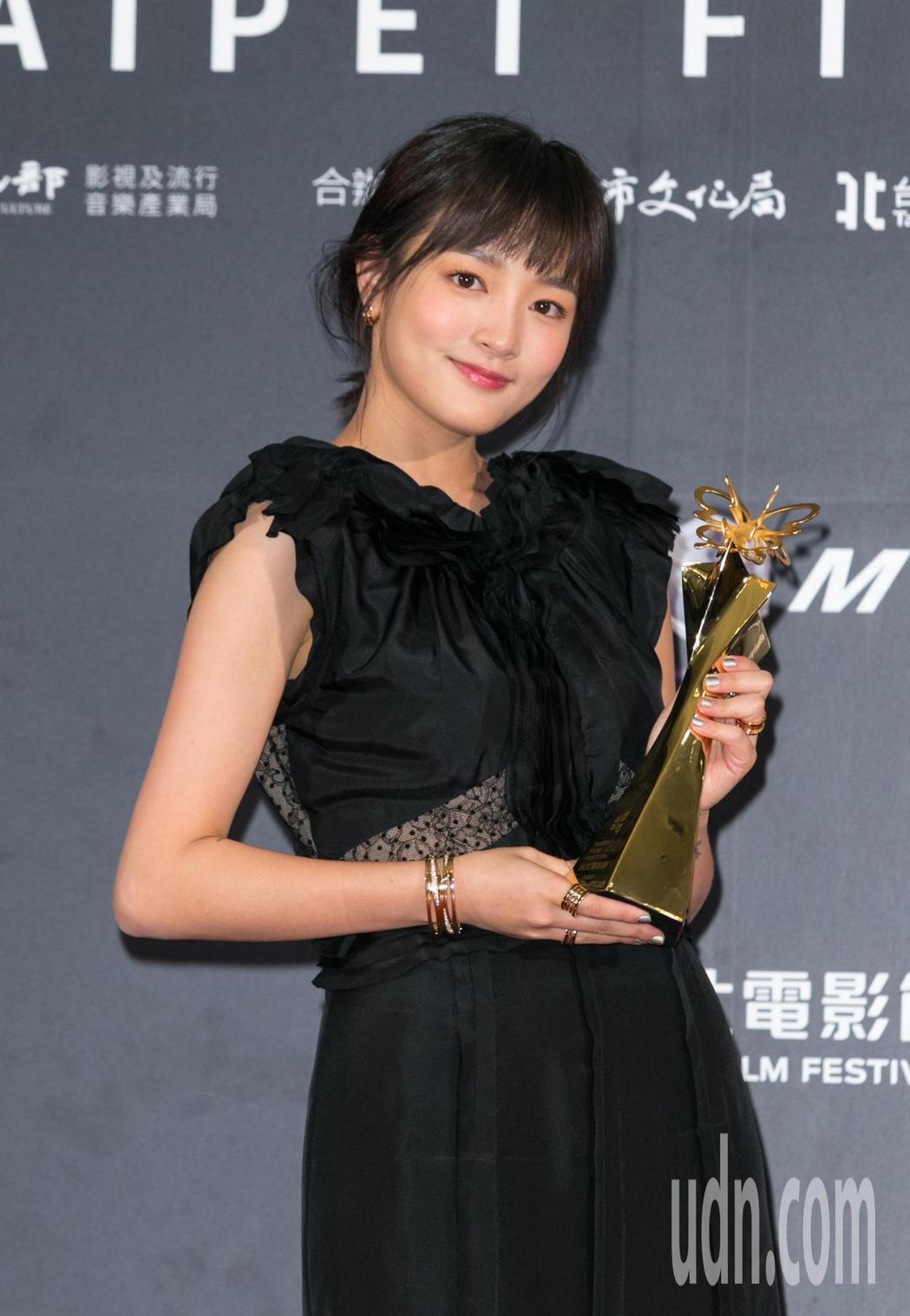 王淨獲得最佳女主角獎。記者陳立凱/攝影