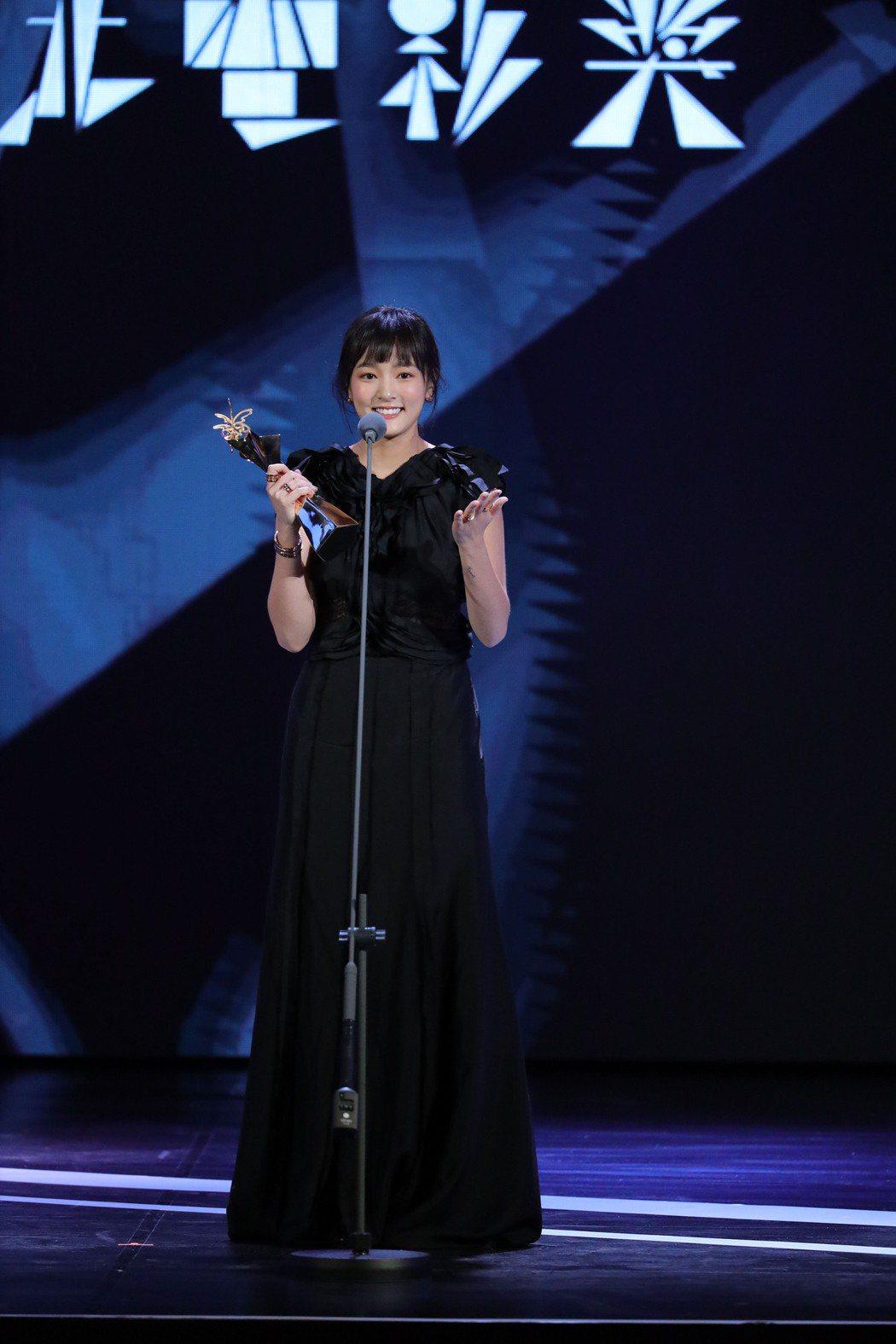 王淨拿下人生中第一座影后榮銜。圖/台北電影節提供