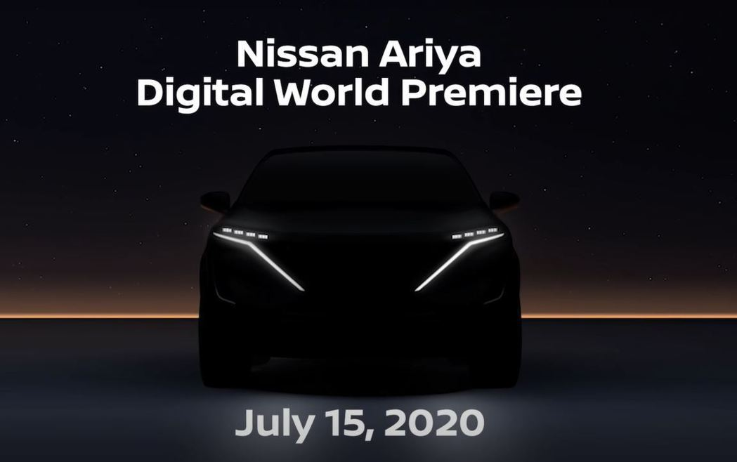 Nissan Ariya將於7/15正式發表。 摘自Nissan