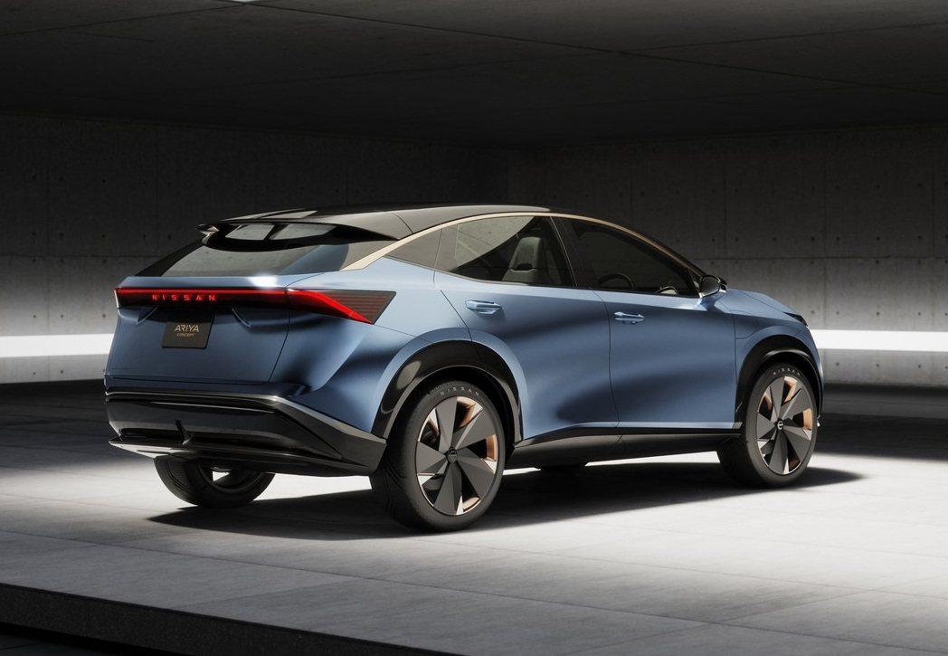 Nissan Ariya Concept。 摘自Nissan