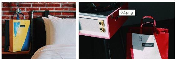 友愛街旅館(U.I.J Hotel & Hostel) 與瑞士環保包袋品牌FRE...