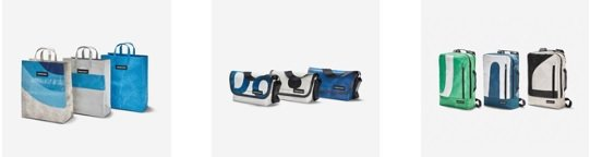 FREITAG是1993年由蘇黎世Freitag兄弟成立的包袋品牌,賦予卡車帆布...